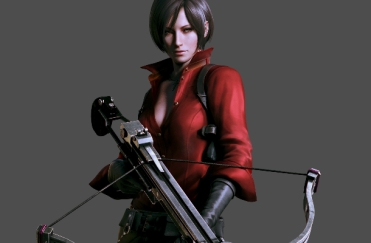 Resident Evil 6 Lady In Red Licking The Pages